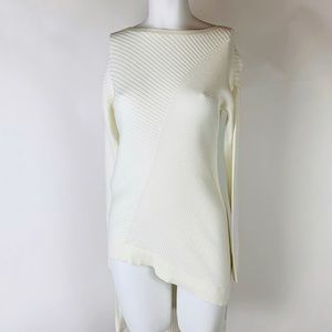 Express Bodycon Asymmetrical Sweater Dress Size S